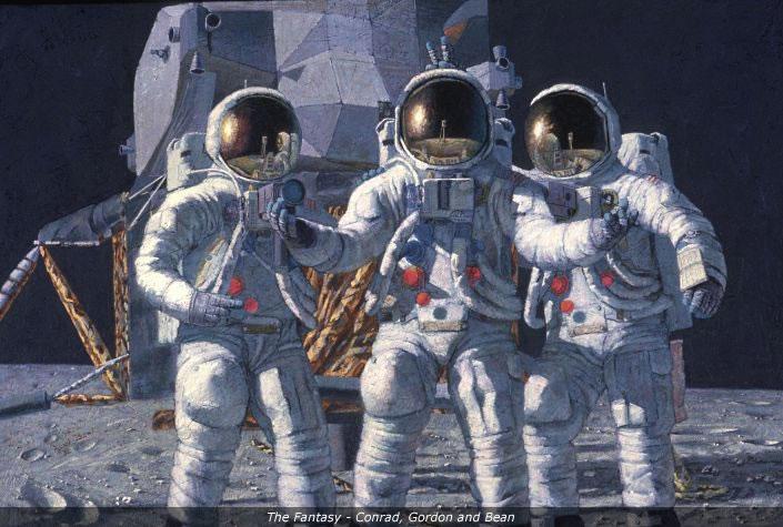 Alan Bean Art, Alan Bean Astronaut, Alan Bean Moonwalker ...